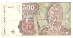 500 lei 1991 Románia