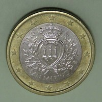 1 Euro San Marino 2010 - Forgalmi érem