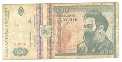 500 lei 1992 Románia
