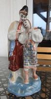 Mátkapár - jelzett orosz figurális porcelán