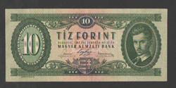 10 forint 1947. VF+!! GYÖNYÖRŰ!! RITKA!!!