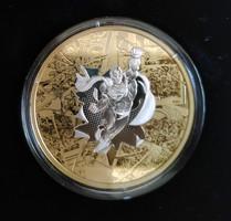2017 Kanada 50$ DC - The Brave and the Bold - 3 uncia ezüst érme, arannyal futtatva