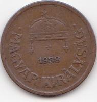 Magyarország forgalmi pémzérme 1938