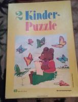 RETRÓ Gyerek puzzle  2 db mese kirakós hiánytalan !!