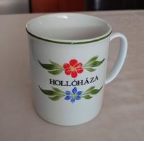 Hollóházi porcelán bögre 3 dl