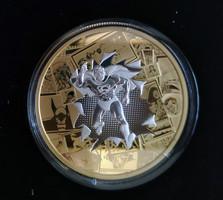 2017 Kanada 50$ DC - All star Comics - 3 uncia ezüst érme, arannyal futtatva