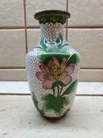 Gyönyörű, tűzzománc váza eladó!