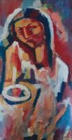 Pálinkás Éva  Női portré