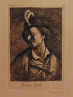 Rudnay Gyula (1878-1957): Bolond Istók - Igényes rézkarc munka családi hagyatékból