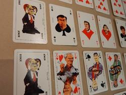 Antall kormány politikus römi kártya 1991 évből, 55 db, hibátlan, hiánytalan