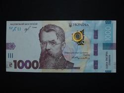 Ukrajna 1000 hrivnya 2019 UNC ÚJ! A Legnagyobb címlet!