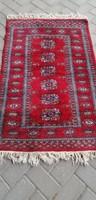 Kézi csomózású afgán bochara szőnyeg.Alkudható!