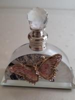 Üveg parfümtartó