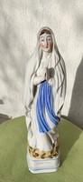 Hatalmas méretű porcelán Imádkozó Mária , színes gyönyörű!N.D.De Lourdes,Lourdes Madonna