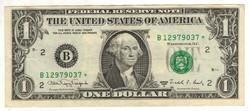 "1 dollár 1988 ""A"" csillagos replacement USA"
