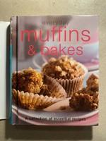"""""""everyday muffins and bakes"""" angol nyelvű süteményeskönyv"""