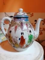 Szépséges Gésa mintázattal, teás kiskancsó