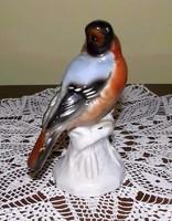 Madár figura Unterweissbach porcelán