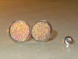 Álomszép Multicolor Opál fényű 925 Fülbevaló