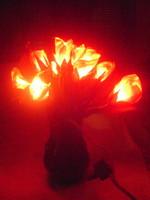 RETRO rózsacsokor hangulat lámpa - nosztalgia kedvelőknek