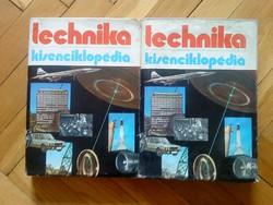 Technika Kisenciklopédia I. - II.  kötet