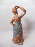 Kovács Margit nagy méretű kerámia figura
