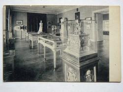 ERZSÉBET KIRÁLYNÉ EMLÉKMÚZEUM FOTÓ POST CARD, KÉPESLAP 1908 (9X14 CM) EREDETI