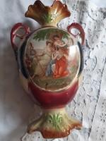 Angol fajansz váza 35 cm