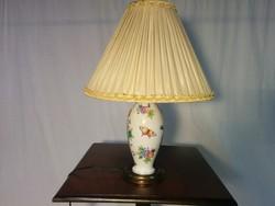Herendi lepke mintás asztali lámpa 1941.