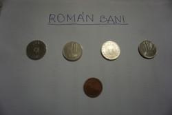 Román bani pénzérmék egyben eladók.