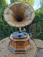 Karácsonyi ajánlat: Pazar 8szögletes Gramafon