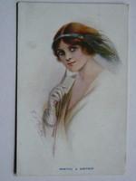 WANTED  A PARTN. POST CARD, KÉPESLAP 1913 THE CARLTON PUBLISHING CO. LONDON NO.674/1 9X14 CM EREDETI