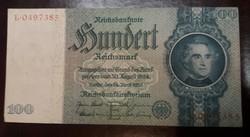 Németország 100 Márka 1935 Vf.