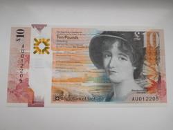 Skócia 10 pounds 2019 Royal bank UNC polymer