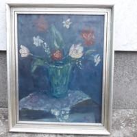 Eredeti Belányi Viktor olajfestmény