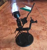 Csavar - lovas szobor