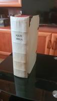 Szent Biblia. Káldi Biblia 1626-os Bécs-i 1.kiadásnak Nagyszombati 2.kiadása.1732.