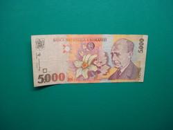 Románia 5000 lei 1998