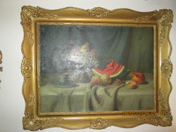 Régi  olaj  festmény