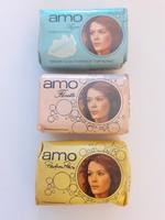 Retro Amo Azur Florette Parfum Paris szappan vintage pipereszappan 3 db