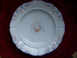 Nagy Altwien tál- Bécs 1852      Festet porcelán. Átmérője 35 cm     Altwien méhkasos jelzéssel