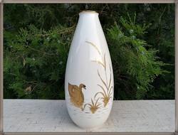 Hatalmas méretű , egyedi festésű, német, Rosenthal porcelán váza