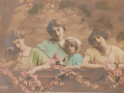 Régi képeslap 1915 K.u.K. bélyegzős levelezőlap