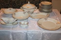 Antik 25 részes Bernadotte étkészlet