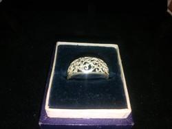 Filligrán Jelzett Ezüst  Gyűrű