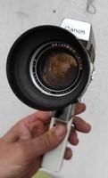 Kamera, retro,Art Deco dekoráció gyüjtemény Canon  szuper 8 legàndàs gépe!