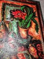 60 x 44 cm festmény