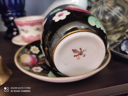 Porcelán keresztelő bögre és tányér