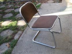 Retro krómozott csővázas szék