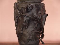 Hatalmas Spiáter petróleum lámpa